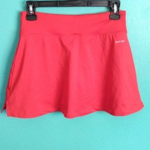 Nike Skirts - Nwot red Nike dri fit tennis skirt